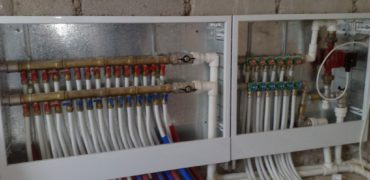 Монтаж гребенки водоснабжения и отопления - Уютный дом