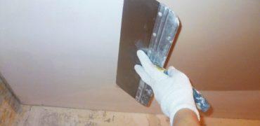Шпаклевка потолка по выгодным расценкам - Уютный дом