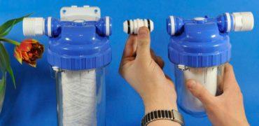 Установка фильтра для воды - Уютный дом