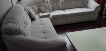 Перетяжка углового дивана - Уютный Дом