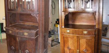 Реставрация шкафа - Уютный Дом
